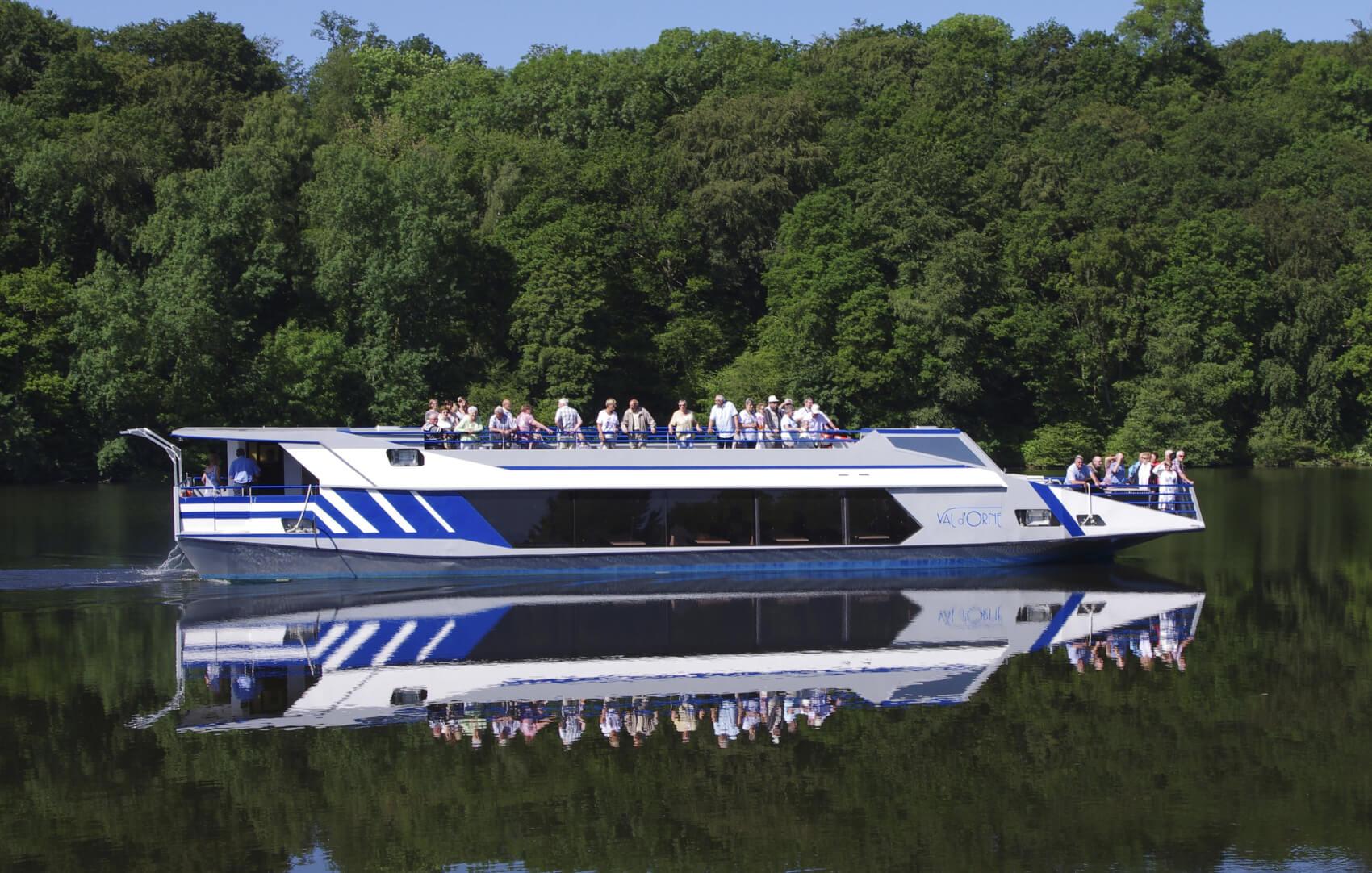 Déjeuner Croisière à bord du Val d'Orne sur le lac de Rabodanges, boisson comprise
