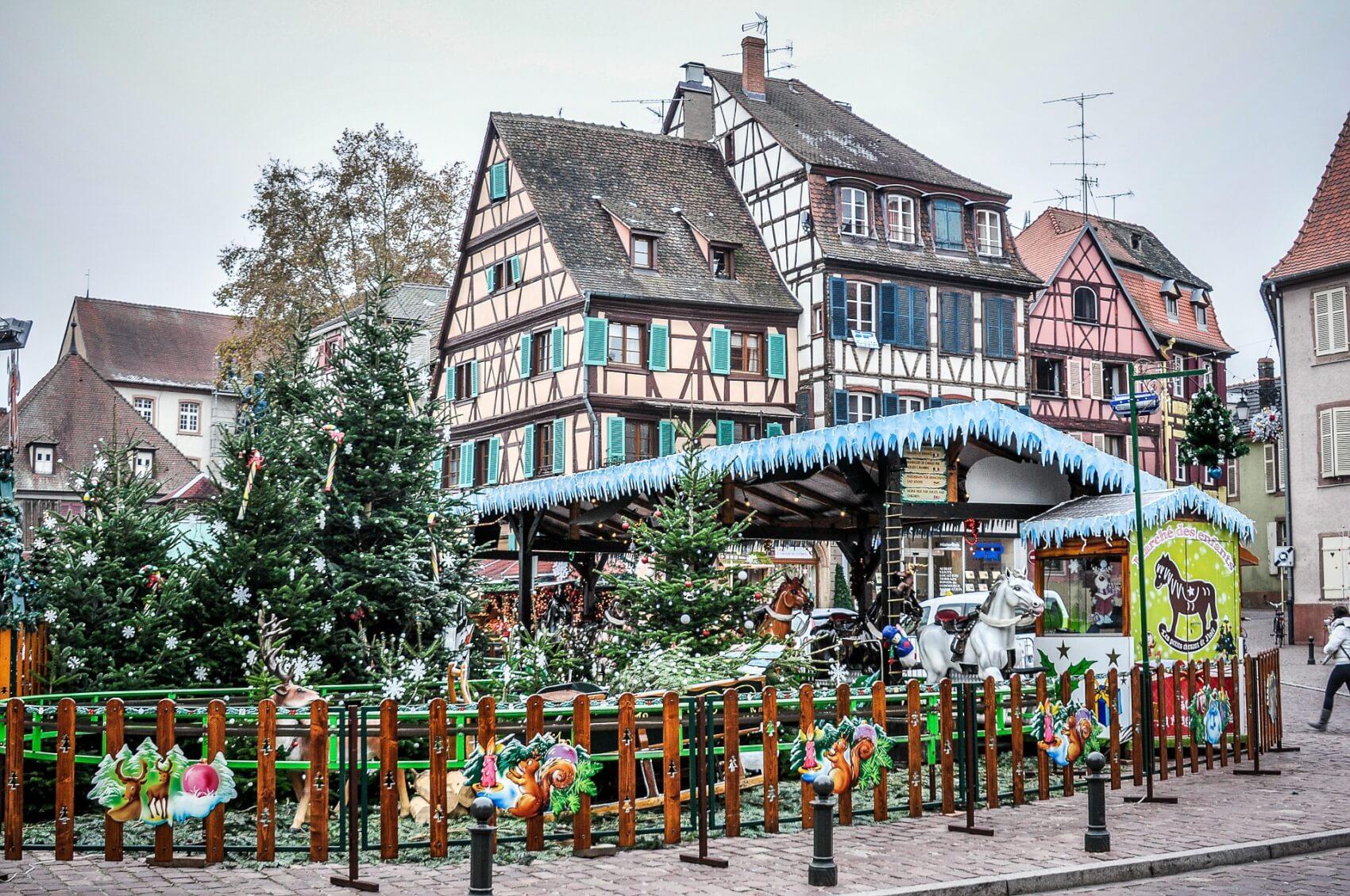 Week-end Marchés de noël en Alsace