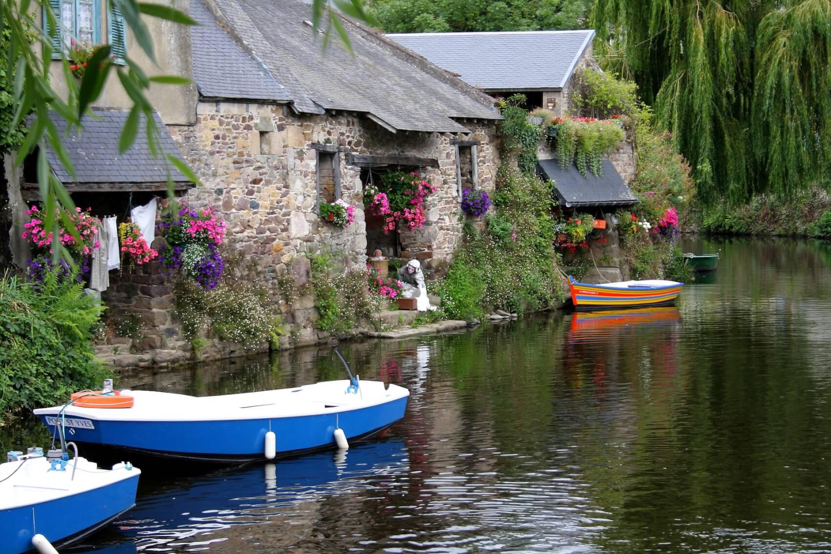 Promenade en barque à la découverte des lavoirs de Pontrieux