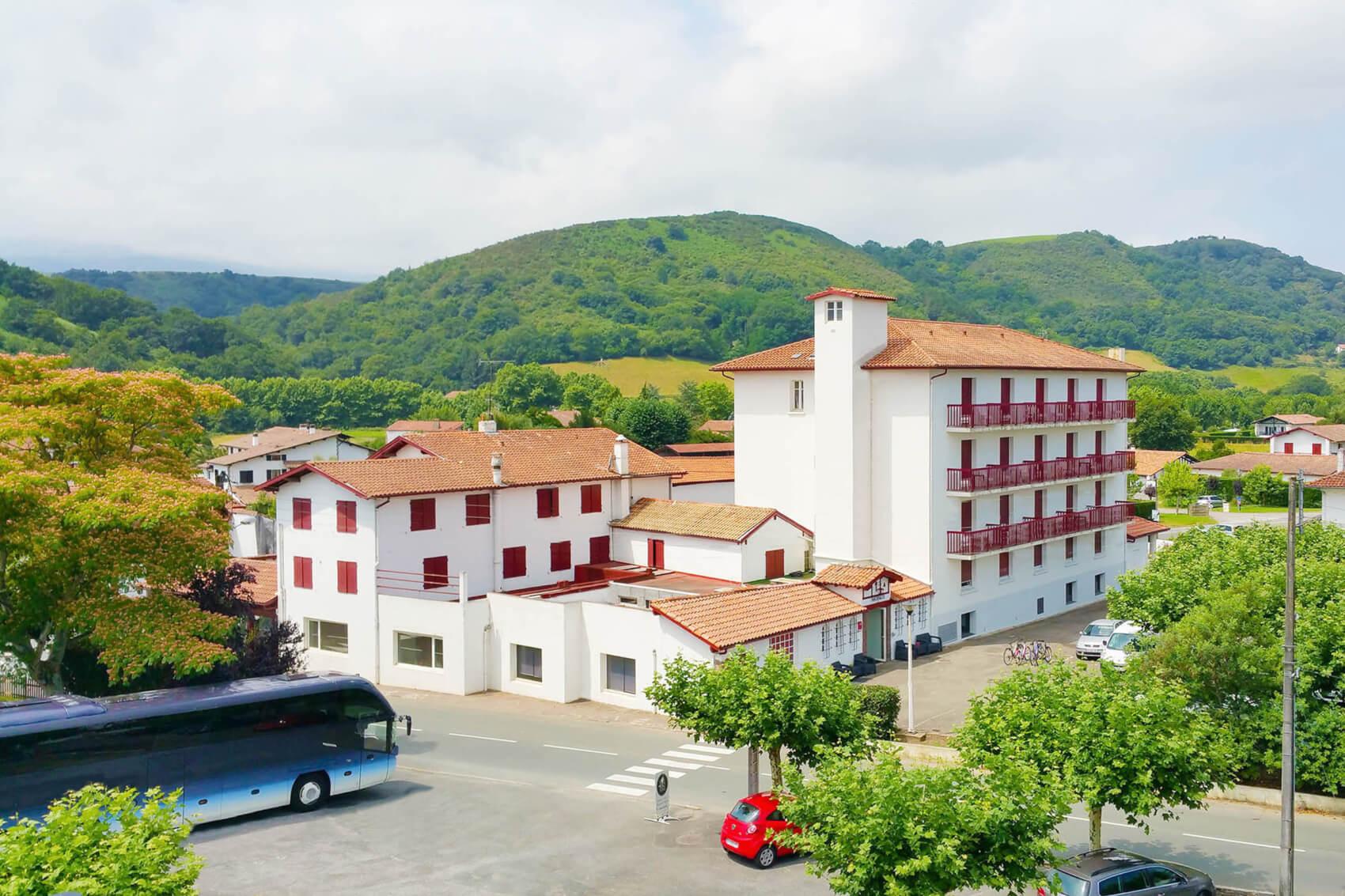 VOTRE HEBERGEMENT : Hôtel Bonnet 3*, Saint Pée sur Nivelle