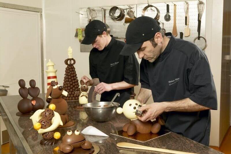 Visite guidée de la Chocolaterie Roland Réauté avec dégustation