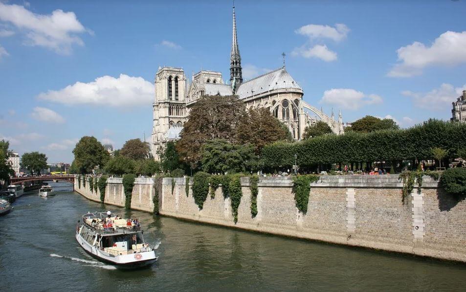 Croisière promenade sur la Seine