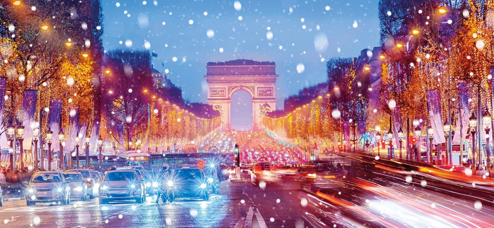 Illuminations de Paris et musée Grévin